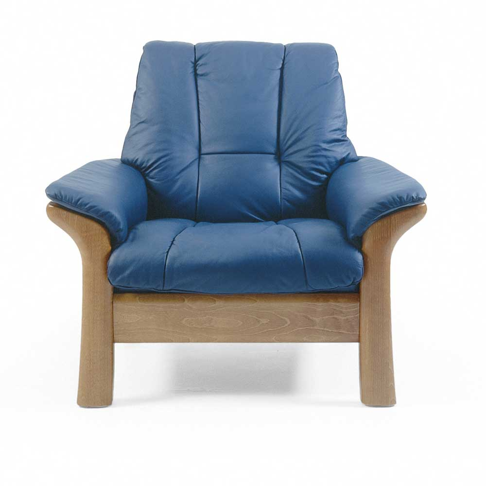 Stressless Windsor Low-Back Reclining Chair by Stressless at Jordan's Home Furnishings
