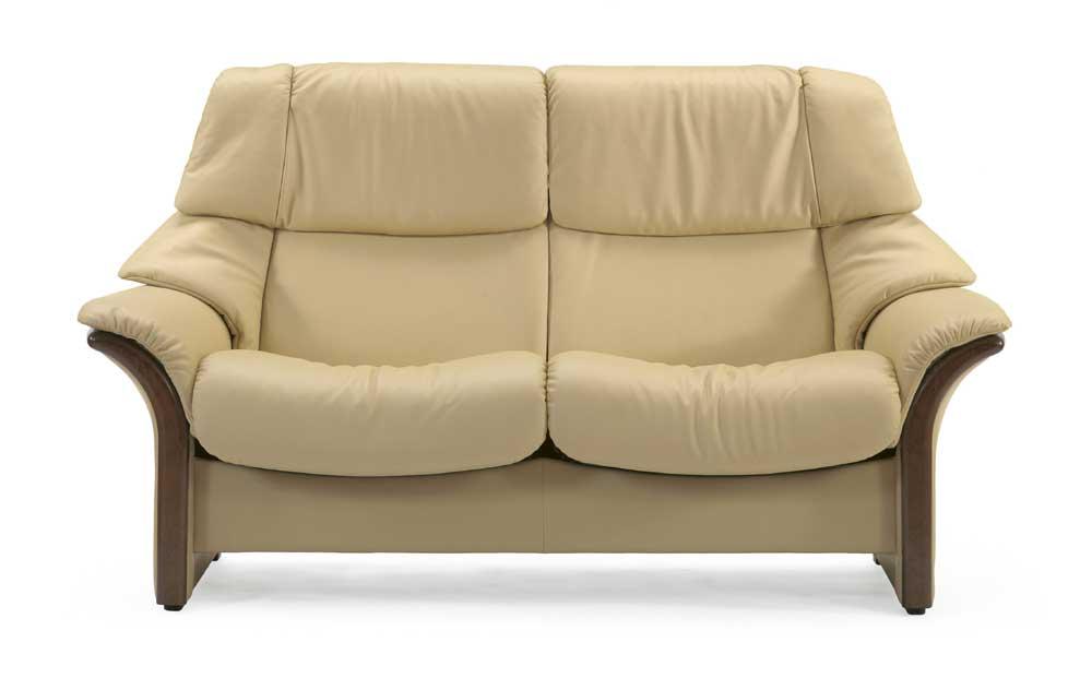 Eldorado High-Back 2-Seater Reclining Loveseat by Stressless at Reid's Furniture