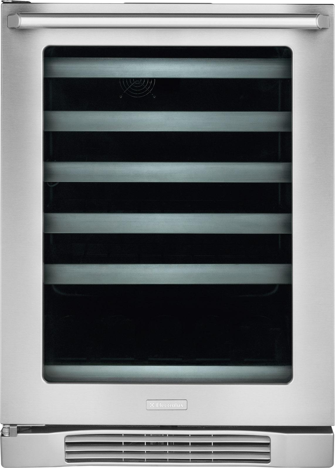 """Beverage Coolers 24"""" Under-Counter Wine Cooler by Electrolux at Fisher Home Furnishings"""
