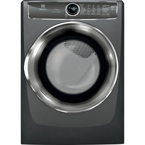 Front Load Perfect Steam? Electric Dryer with PredictiveDry? and Instant Refresh - 8.0. Cu. Ft.