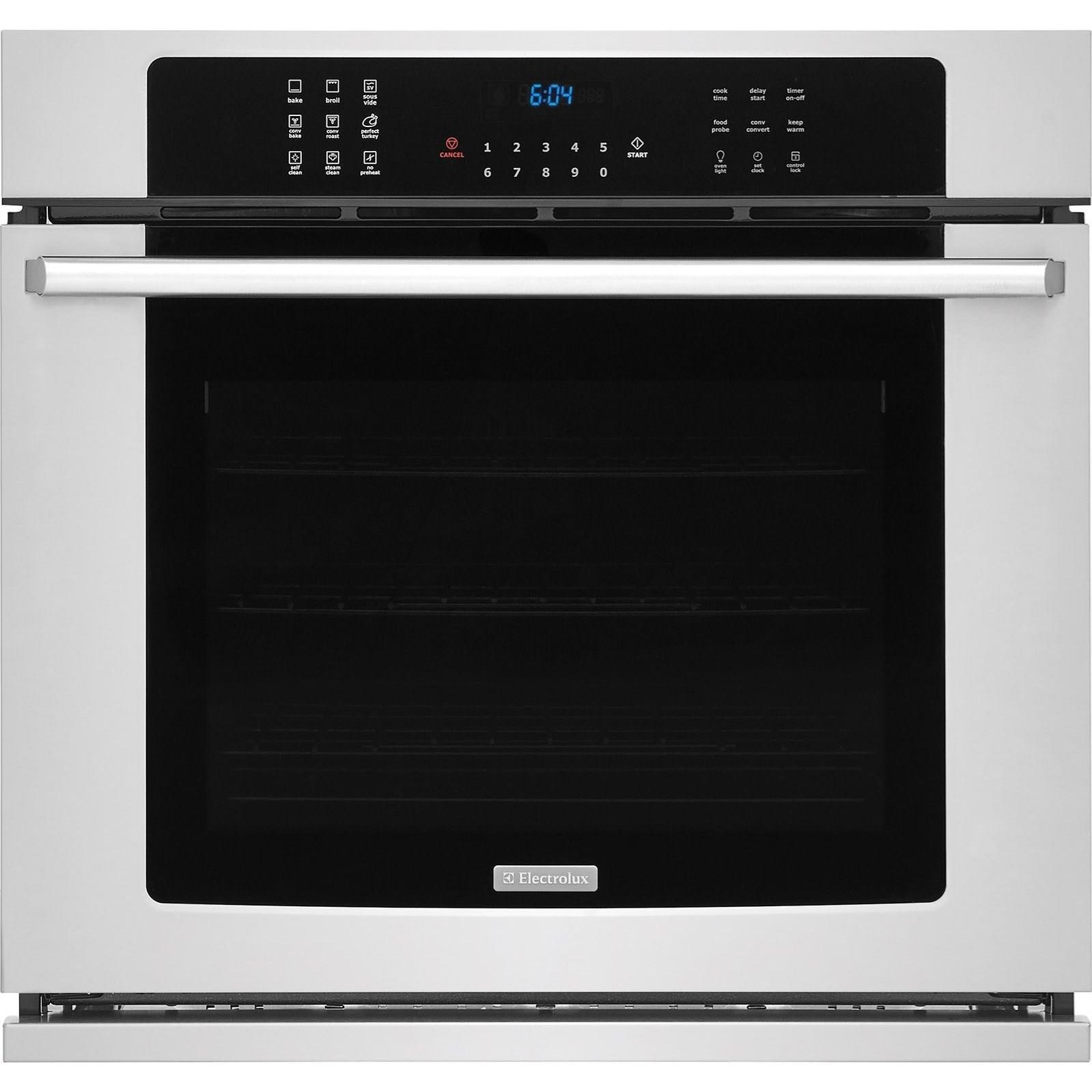 "Electric Wall Ovens 30"" Electric Single Wall Oven by Electrolux at Westrich Furniture & Appliances"