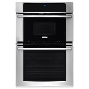 """30"""" Wall Oven and Microwave Combination with Wave-Touch? Controls"""