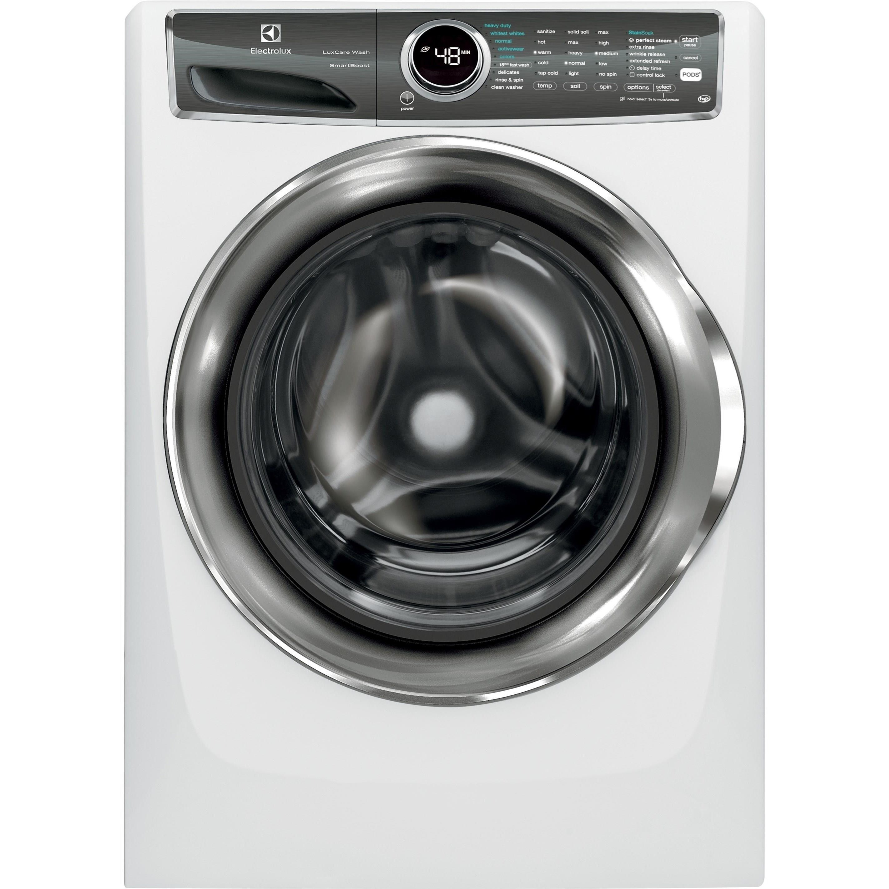 Washers Front Load Perfect Steam™ Washer by Electrolux at Furniture and ApplianceMart