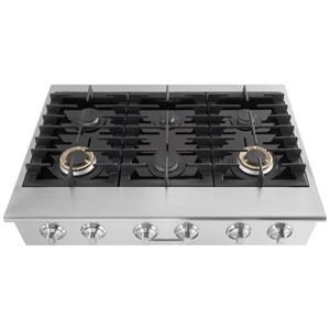"Electrolux ICON® Gas Cooktops - Electrolux ICON Electrolux ICON® 36"" Gas Slide-In Cooktop"