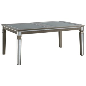 Glam Standard Height Rectangle Dining Table