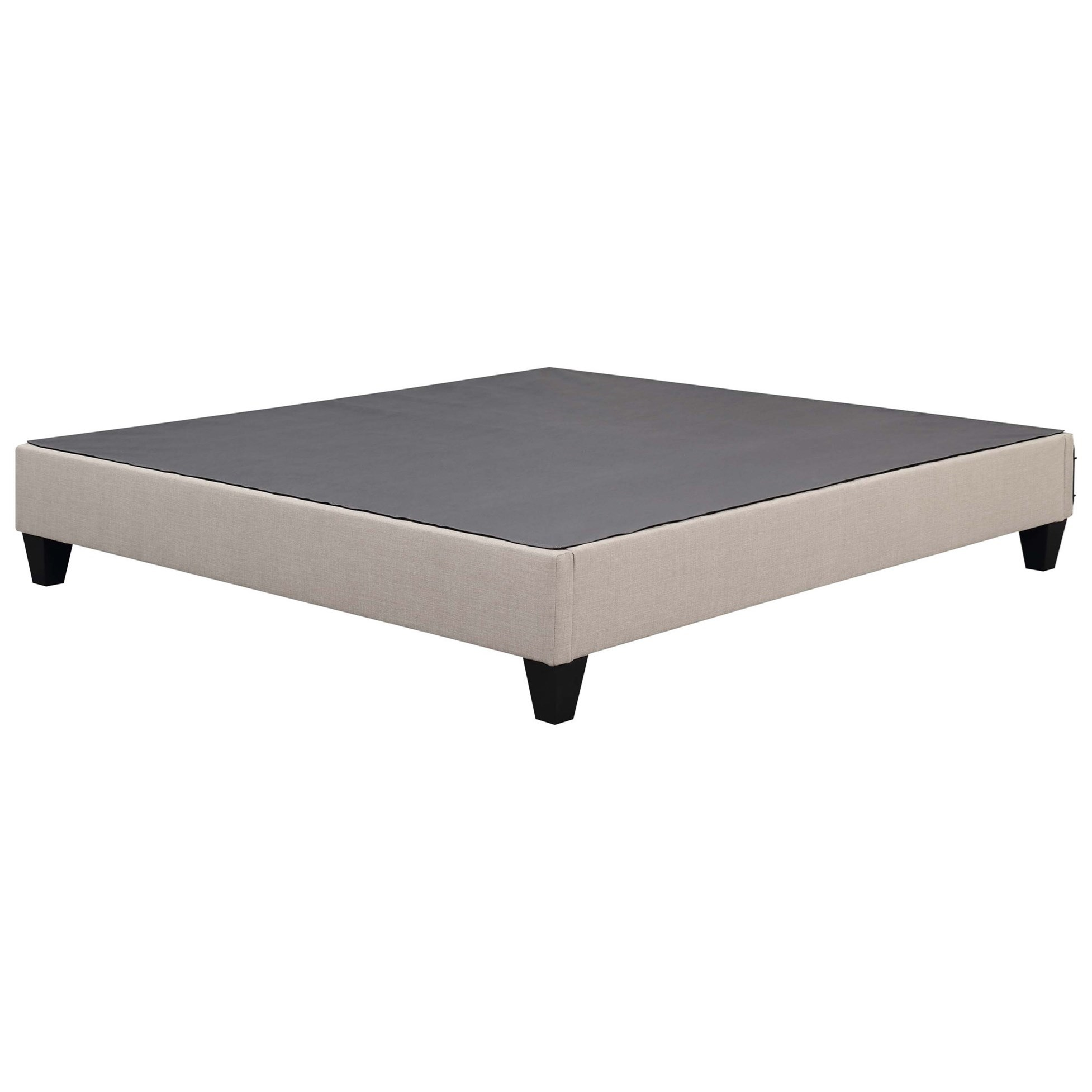 Abby King Platform Bed by Elements International at Goffena Furniture & Mattress Center
