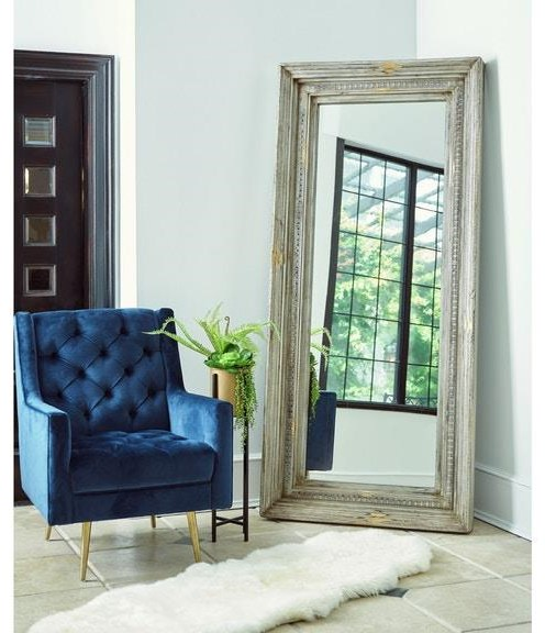 Accents Mirror by Elements International at Sam Levitz Outlet