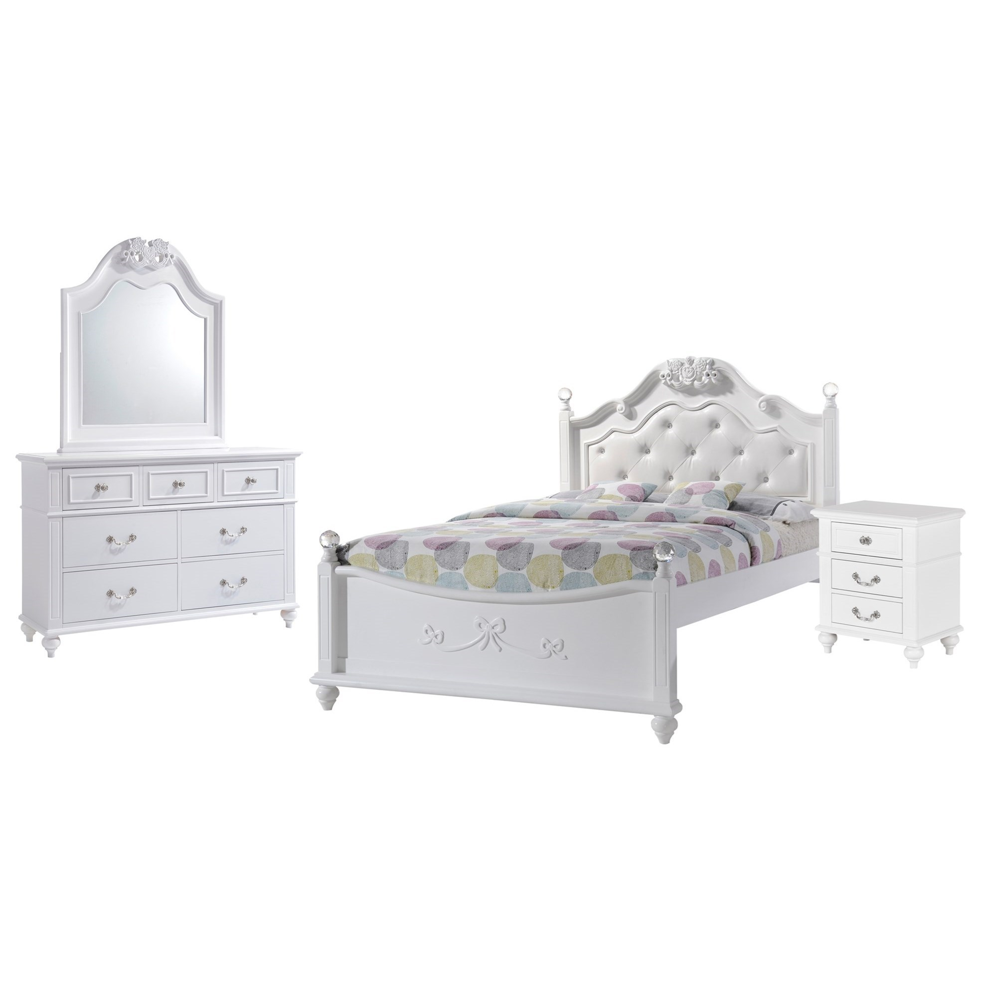 Alana Bedroom Set by Elements International at Beck's Furniture