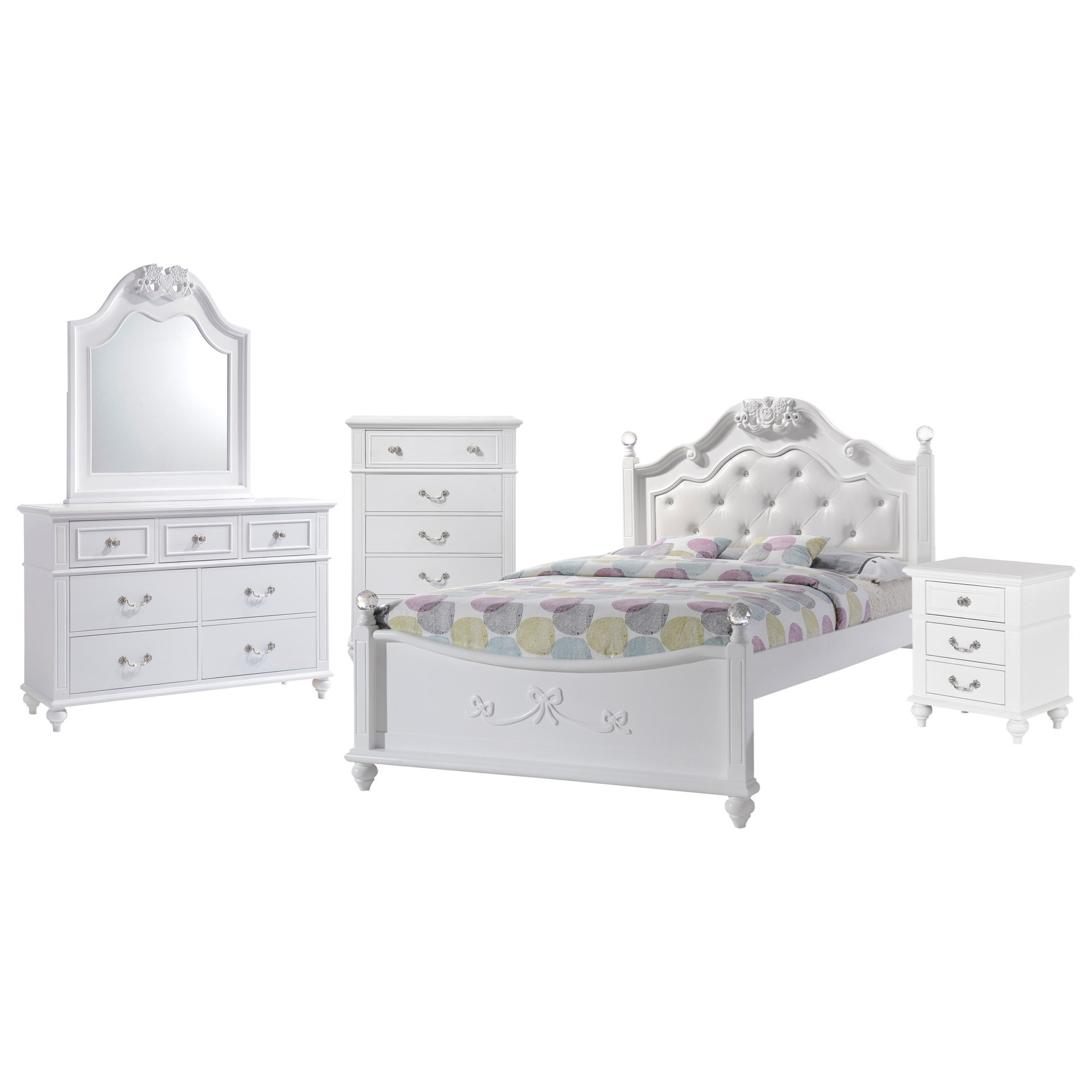 Full 5-Piece Bedroom Set