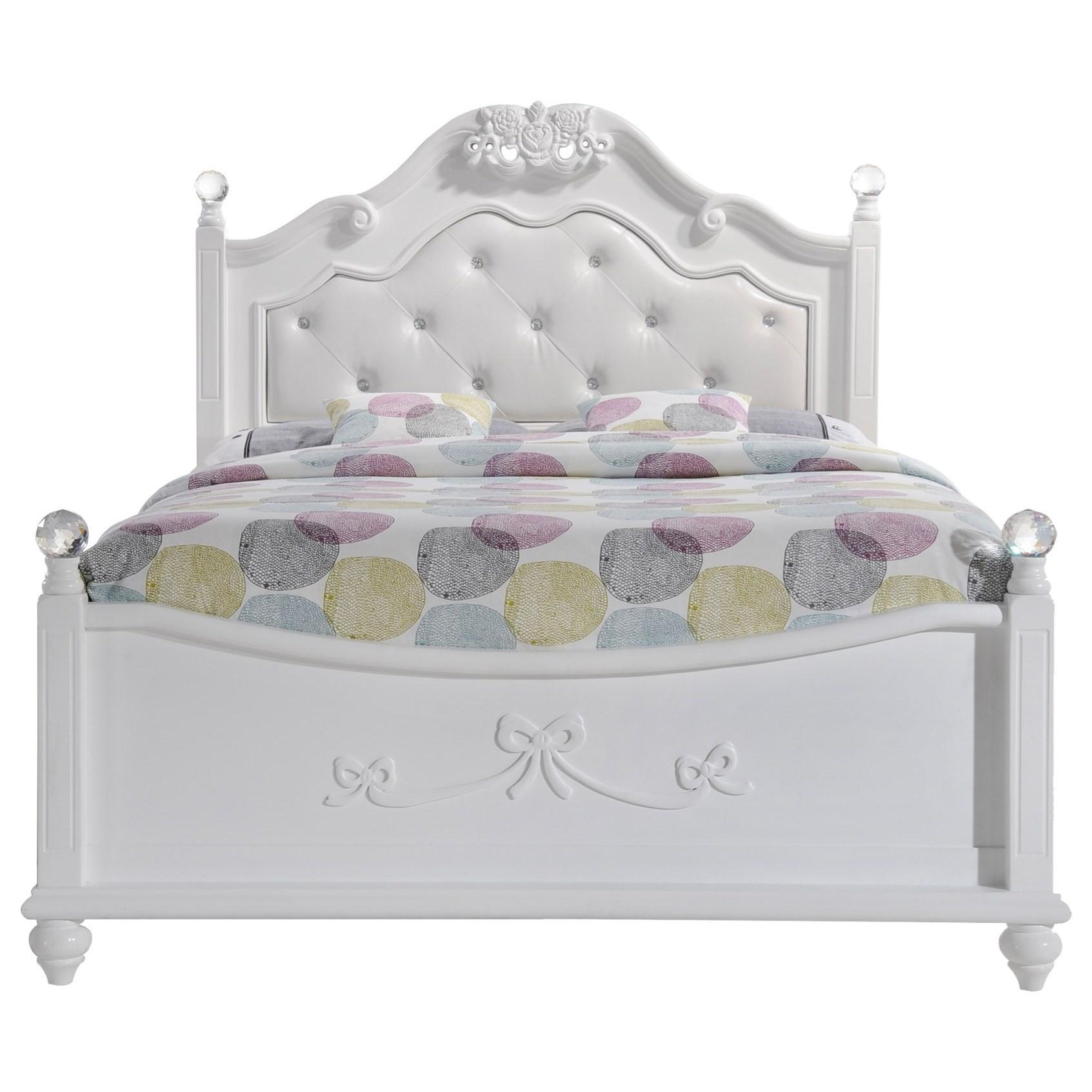 Alana Full Platform Bed by Elements International at Beck's Furniture