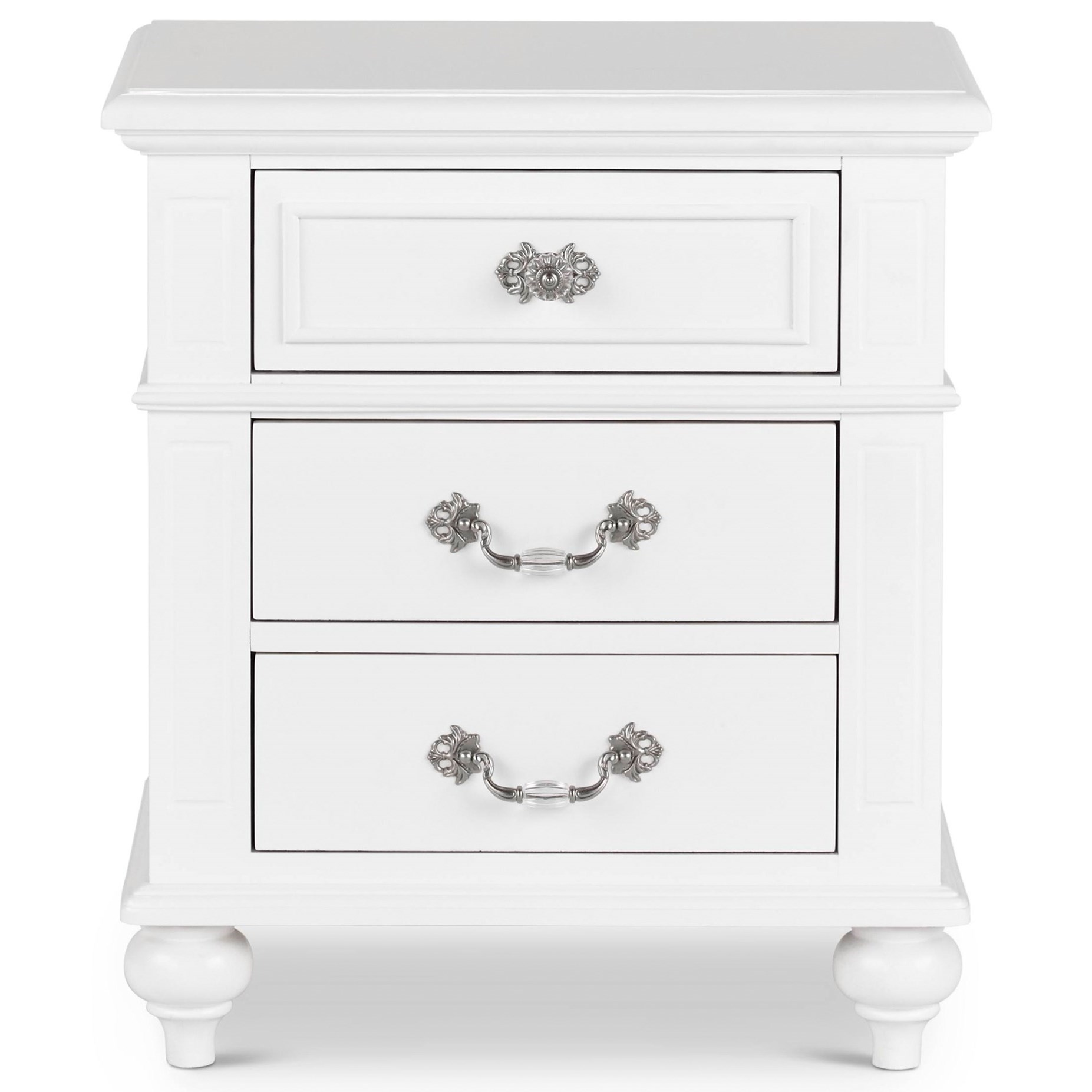 Alana Nightstand by Elements International at Becker Furniture
