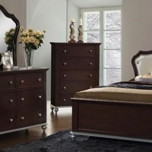Glamorous Chest with Five Drawers