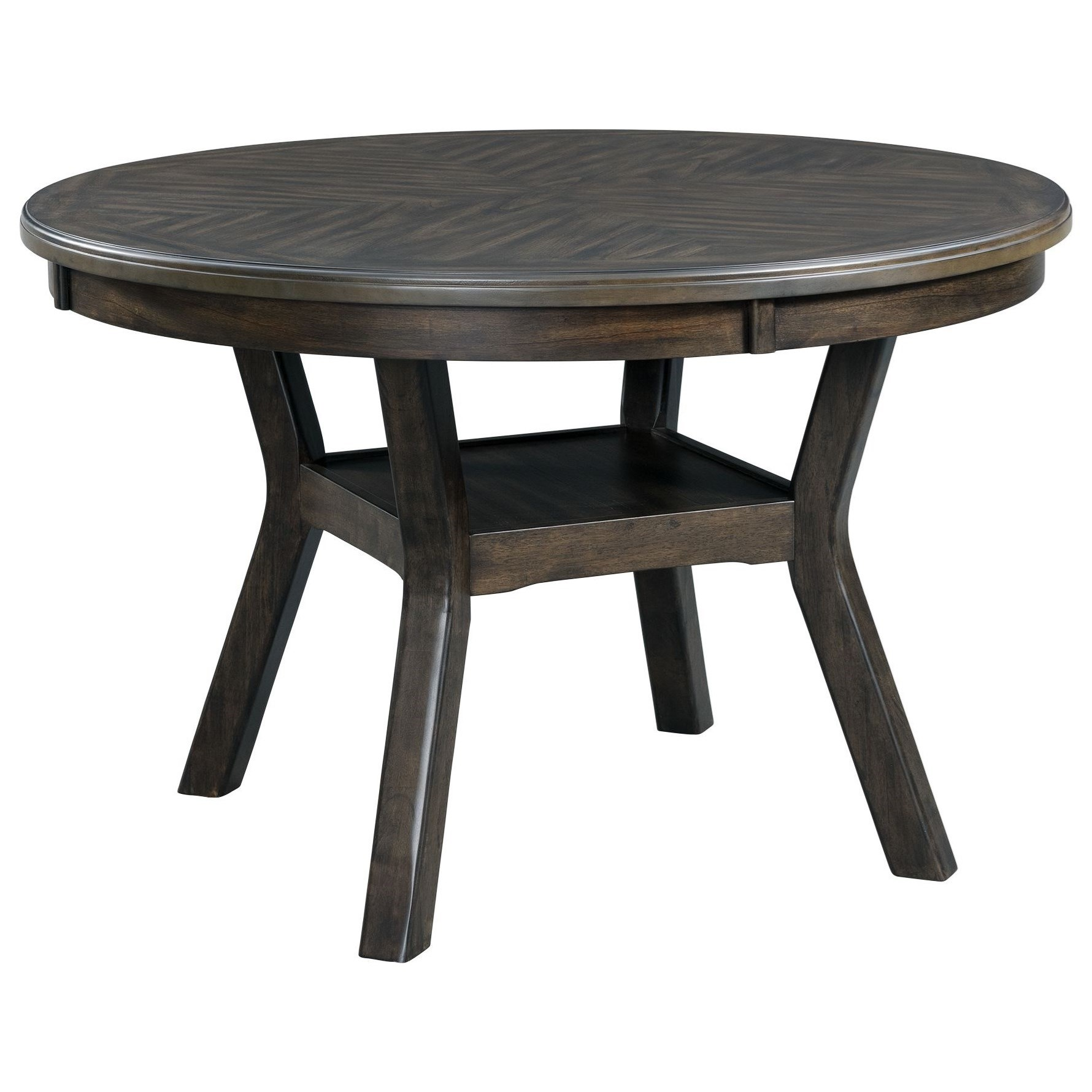 Amherst Standard Height Dining Table by Elements International at Becker Furniture