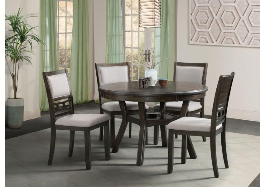 Amherst Standard Height Dining Table by Elements International at Furniture Fair - North Carolina