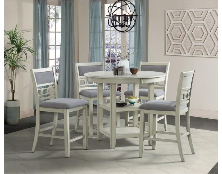 Amherst Counter Height Dining Table by Elements International at Furniture Fair - North Carolina