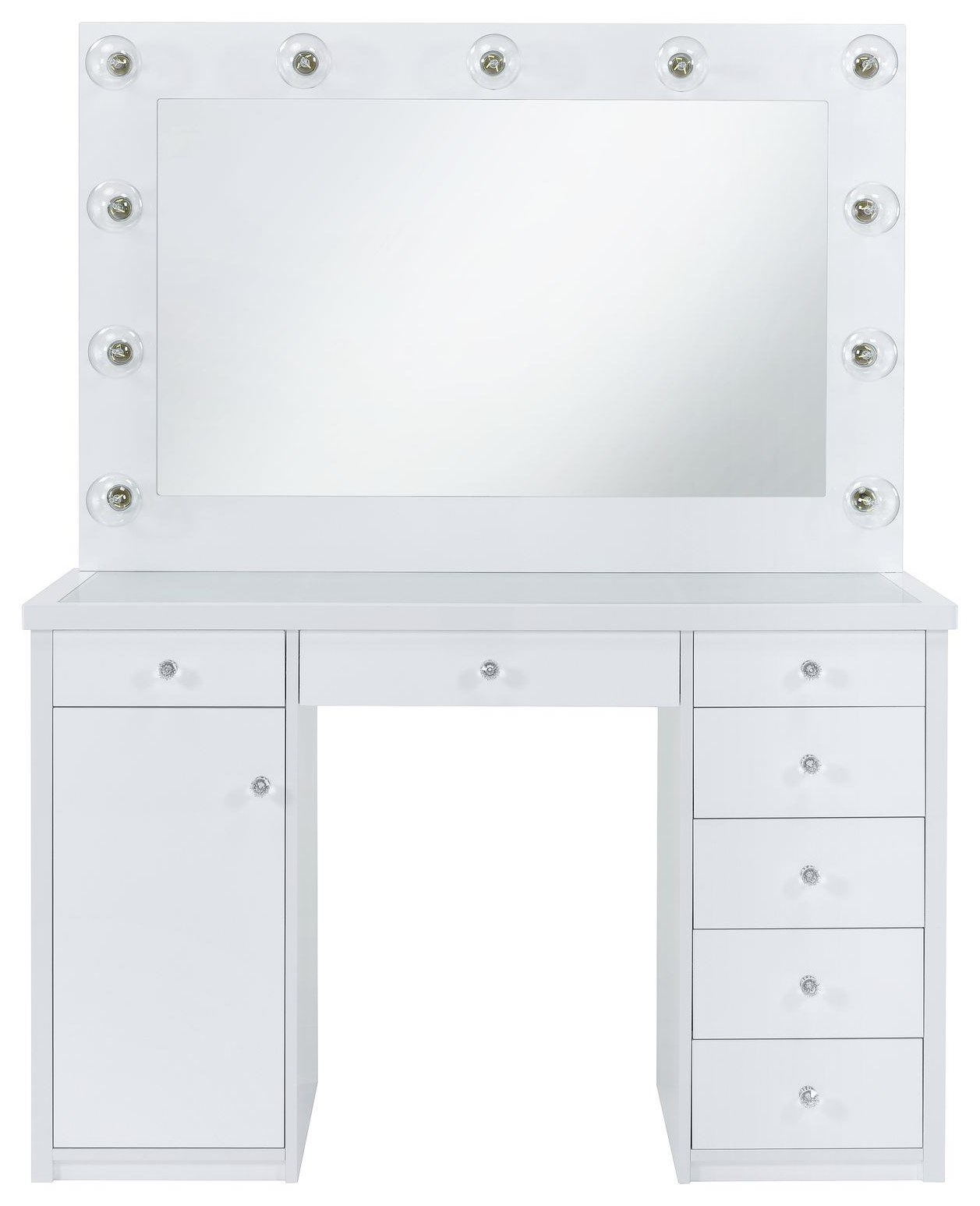 Amia VANITY W/LIGHT BULBS by Elements International at Household Furniture