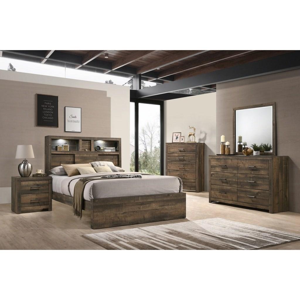 NASHVILLE Queen Bedroom Group by EFO at EFO Furniture Outlet
