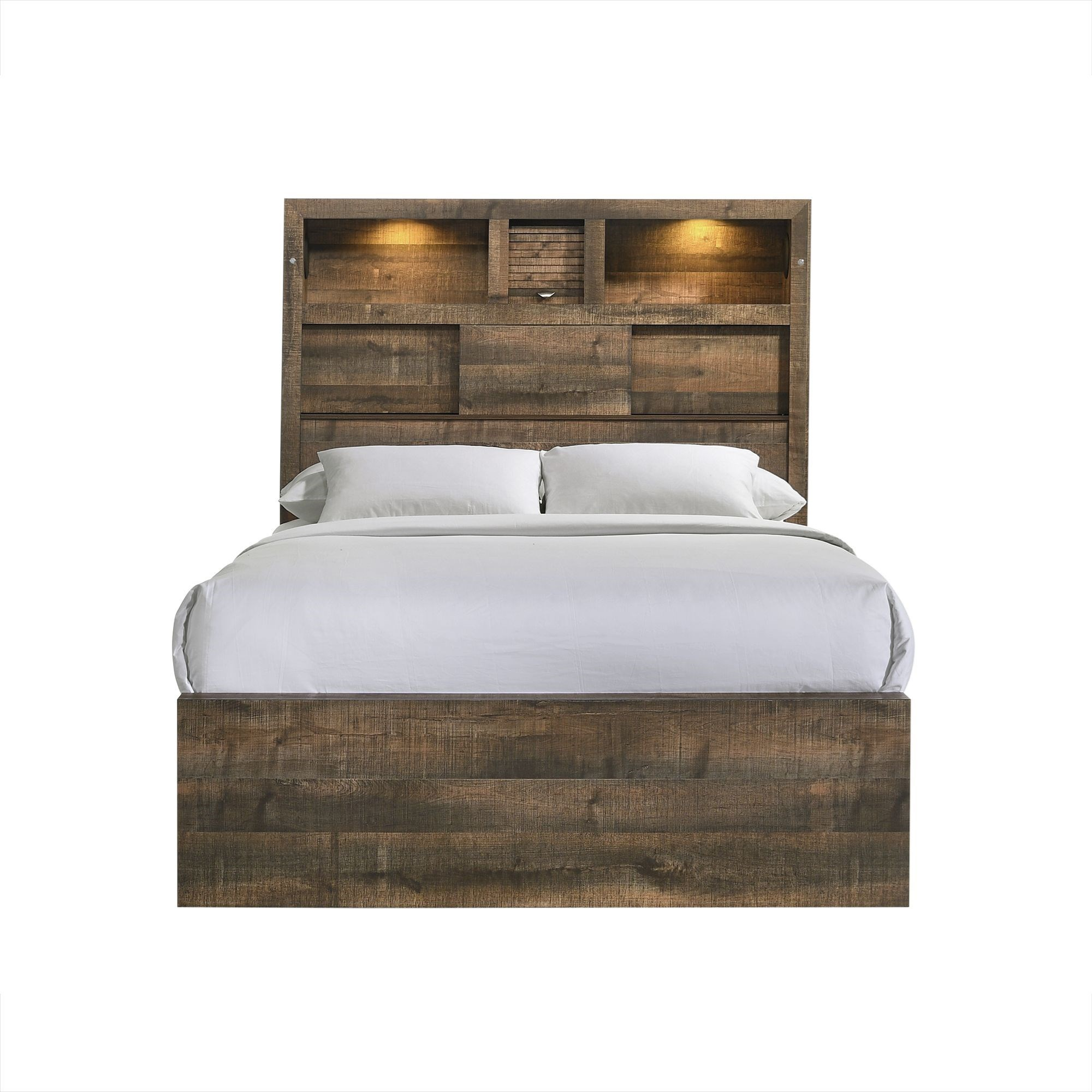 Bailey Full Bookcase Bed by Elements International at Smart Buy Furniture