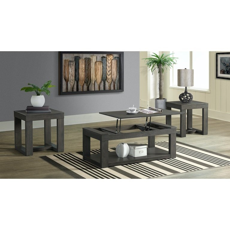 Benton Occasional Table Group by Elements International at Powell's Furniture and Mattress