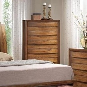 Chest with Five Drawers and Hidden Hardware