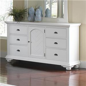 Classic Dresser with Center Door