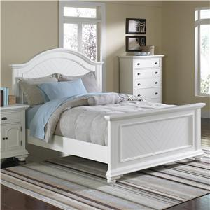 Classic King Panel Bed with Plank Detail