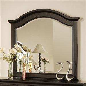 Curved Crown Dresser Mirror