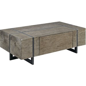 Modern Coffee Table with Drawer