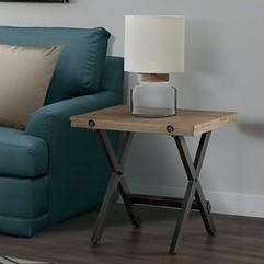 Callista End Table by Elements International at Smart Buy Furniture