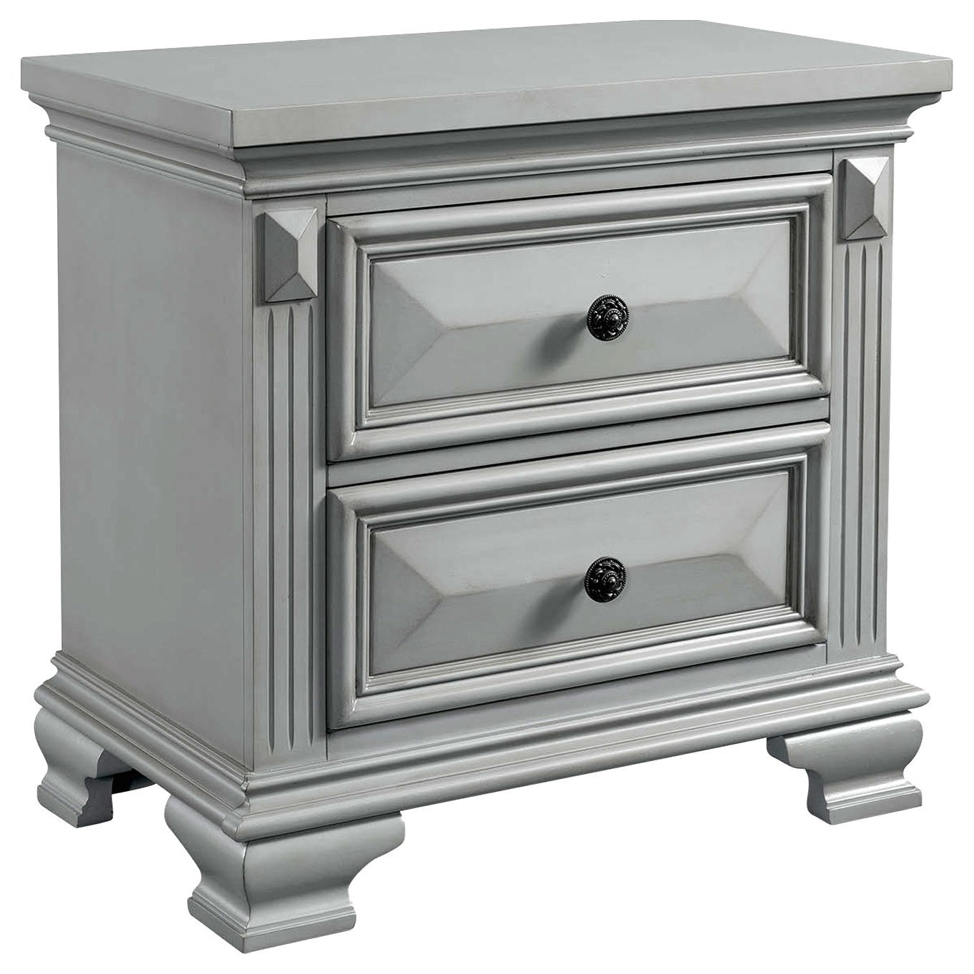 Calloway Nightstand by Elements International at Johnny Janosik