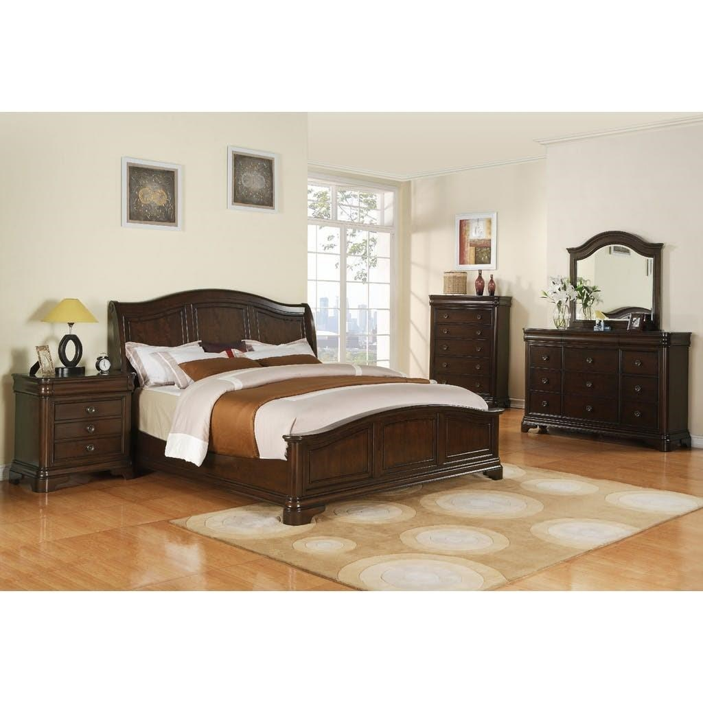 Cameron California King Bedroom Group by Elements International at Beck's Furniture