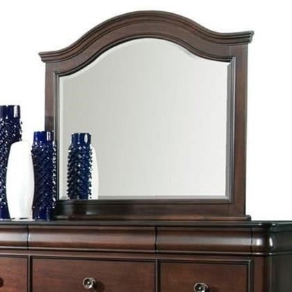 Cameron Landscape Mirror by Elements International at Beck's Furniture