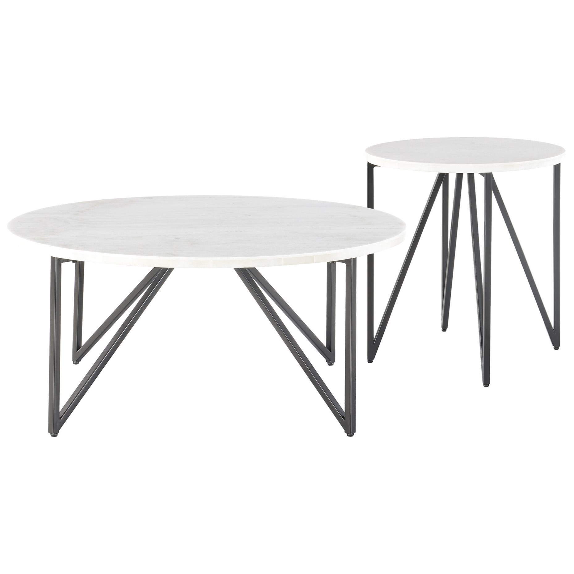 2 Piece Occasional Table Set