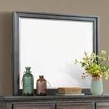 Chatham Gray Dresser Mirror by Elements International at Johnny Janosik
