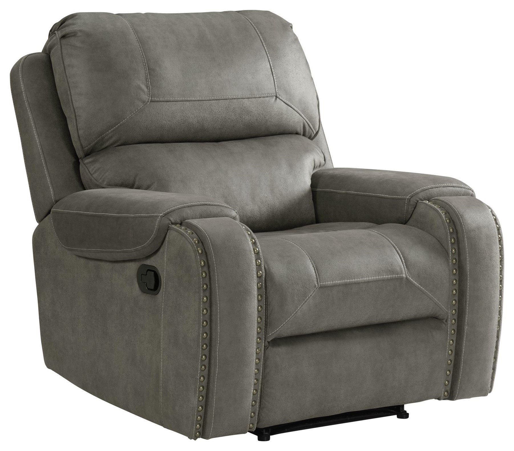 Clayton Motion Recliner by Elements International at Smart Buy Furniture