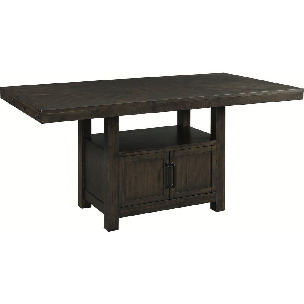 Colorado Counter Height Table by Elements International at Household Furniture