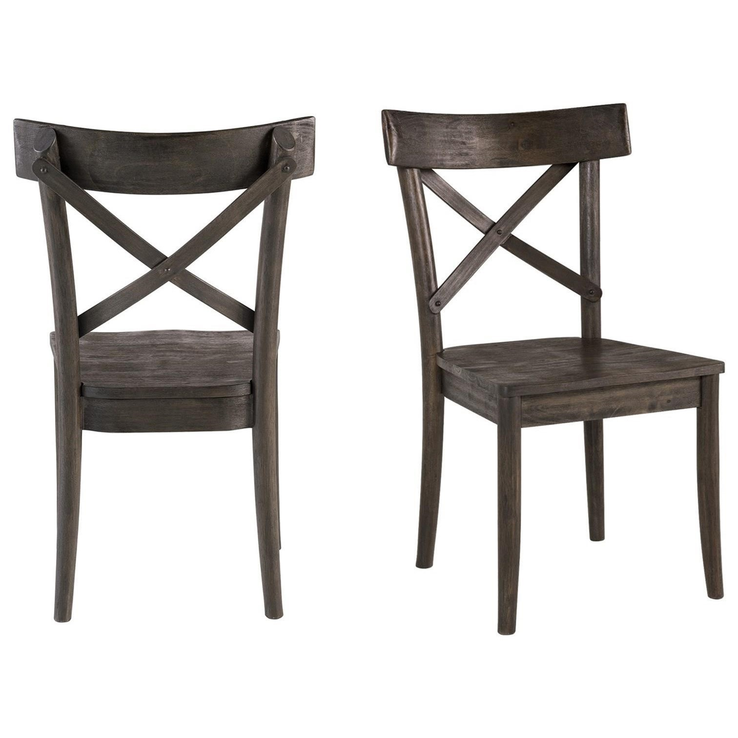 Coronado Dining Side Chair by Elements International at Lindy's Furniture Company
