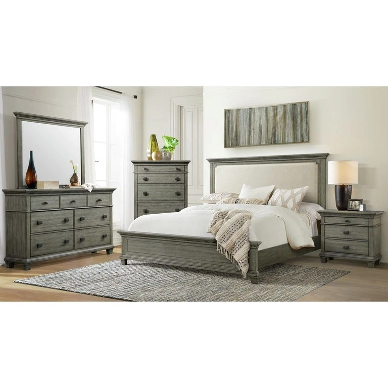 PARKER Queen Bedroom Group by EFO at EFO Furniture Outlet