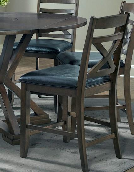 D19840 Pub Stool by Elements International at Furniture Fair - North Carolina