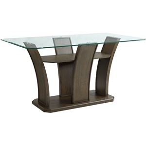 Rectangle Counter Dining Table