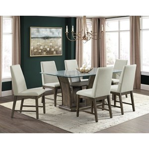 7-Piece Table and Chair Set