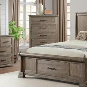 Transitional Drawer Chest