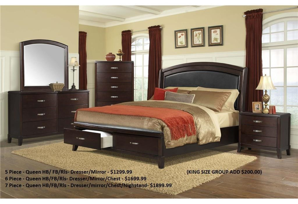 Delaney Queen Bedroom Group by Elements International at Furniture Fair - North Carolina