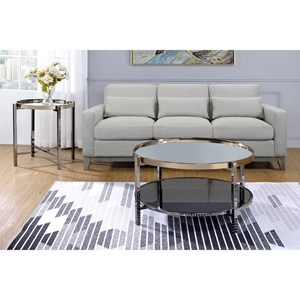 Contemporary 2-Piece Occasional Table Set