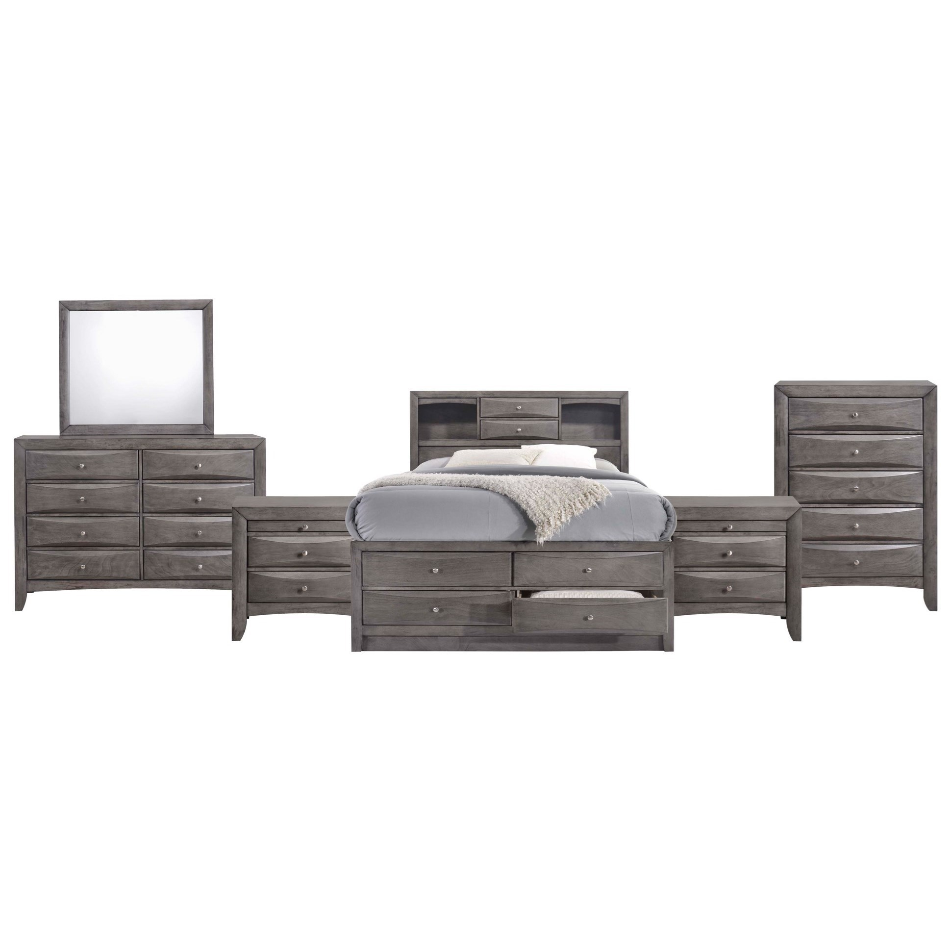 NASH Full Bedroom Group by EFO at EFO Furniture Outlet