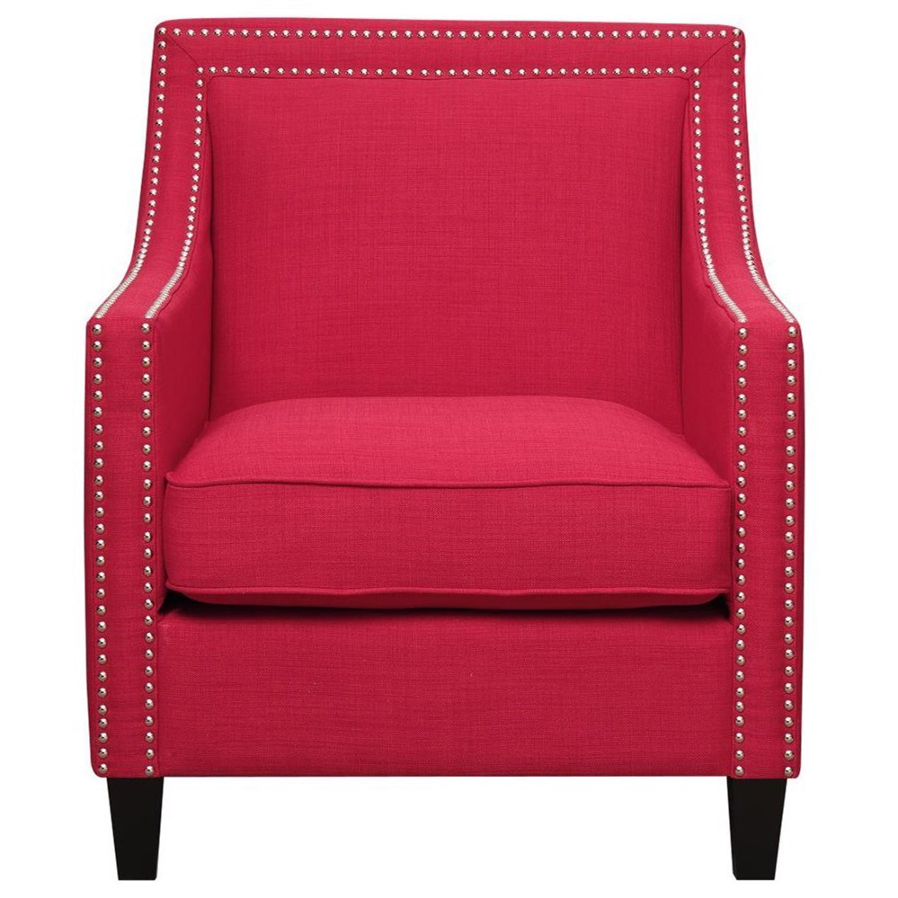 Erica Accent Chair by Elements International at Beck's Furniture