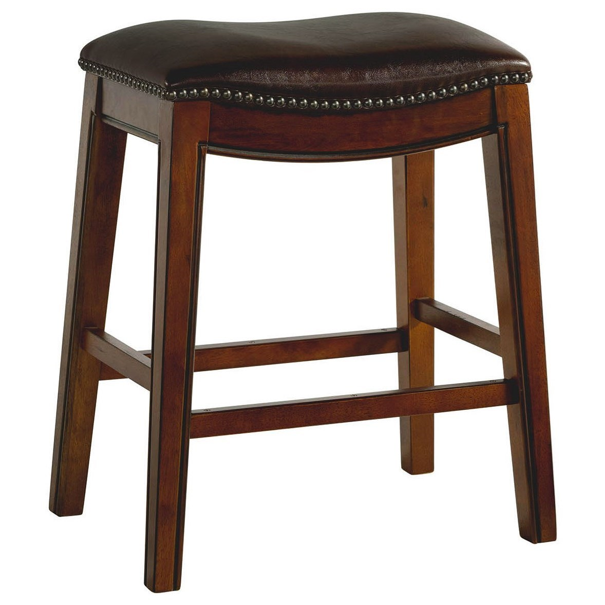 """Fiesta 24"""" Backless Counter Height Stool by Elements International at Wilcox Furniture"""