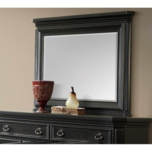 Dresser Mirror with Ornate Mirror