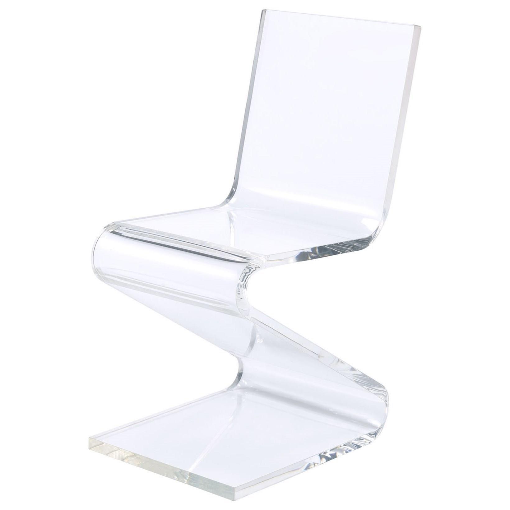 Acrylic Z-Chair