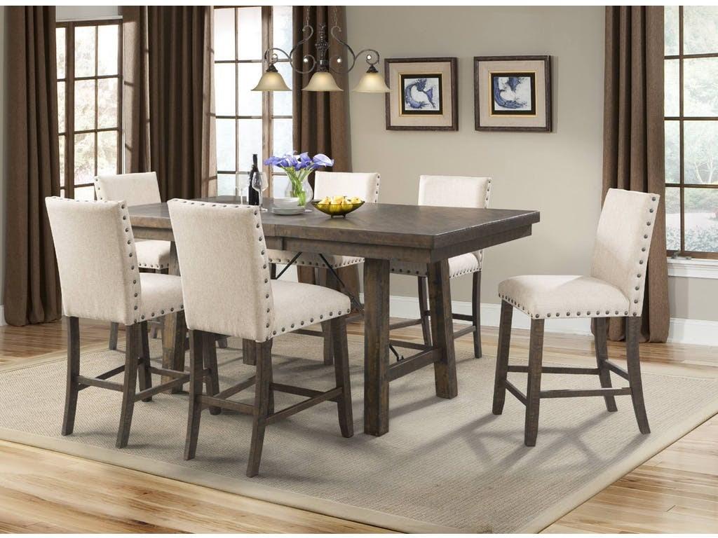 Jax Counter Height Dining Set by Elements International at Sam Levitz Furniture